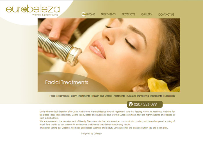 Eurobelleza website